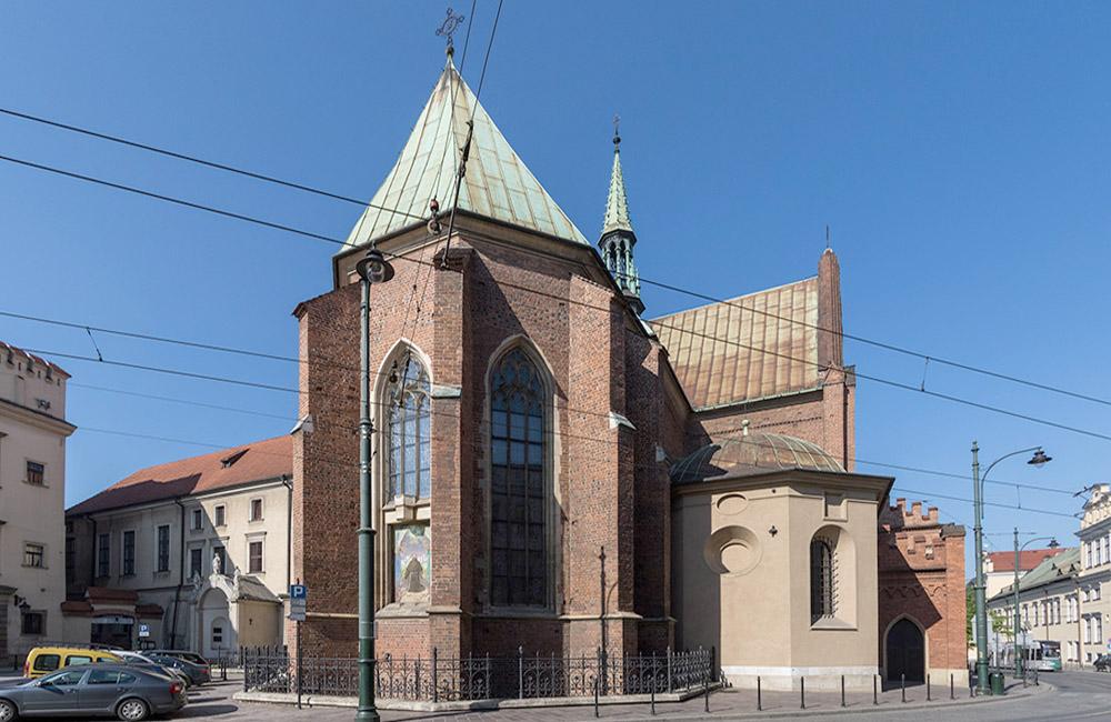 Костёл Францисканцев в Кракове