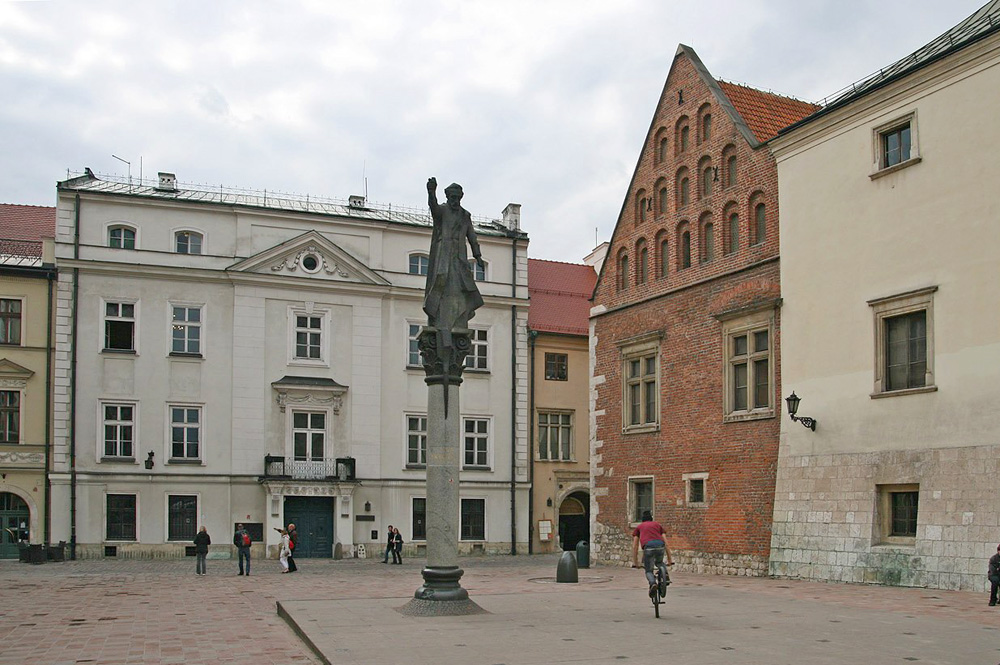 Площадь Марии Магдалены в Кракове